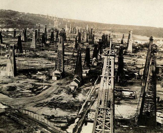 Câmpuri petroliere în Prahova